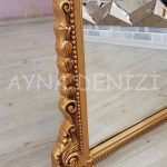 Matmazel Model Altın Renk Ayaklı Boy Aynası-20