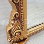Matmazel Model Altın Renk Ayaklı Boy Aynası-21