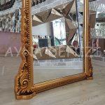 Matmazel Model Altın Renk Ayaklı Boy Aynası-23