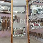Matmazel Model Altın Renk Ayaklı Boy Aynası-4