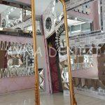 Matmazel Model Altın Renk Ayaklı Boy Aynası-6
