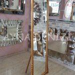 Matmazel Model Altın Renk Ayaklı Boy Aynası-9