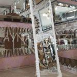Matmazel Model Beyaz Renk Ayaklı Boy Aynası-14
