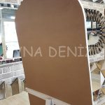 Matmazel Model Beyaz Renk Ayaklı Boy Aynası-17
