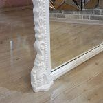 Matmazel Model Beyaz Renk Ayaklı Boy Aynası-18