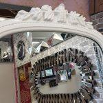 Matmazel Model Beyaz Renk Ayaklı Boy Aynası-20