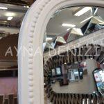 Matmazel Model Beyaz Renk Ayaklı Boy Aynası-21