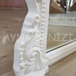 Matmazel Model Beyaz Renk Ayaklı Boy Aynası-23