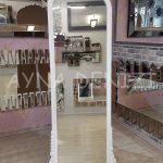 Matmazel Model Beyaz Renk Ayaklı Boy Aynası-5