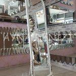 Matmazel Model Eskitme Beyaz Renk Ayaklı Boy Aynası-4