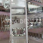 Matmazel Model Eskitme Beyaz Renk Ayaklı Boy Aynası-8