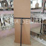 Matmazel Model Siyah Altın Renk Ayaklı Boy Aynası-14