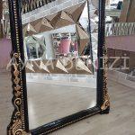Matmazel Model Siyah Altın Renk Ayaklı Boy Aynası-20