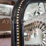 Matmazel Model Siyah Altın Renk Ayaklı Boy Aynası-21