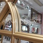 Milano Model Altın Renk Dekoratif Pencere Ayna-17
