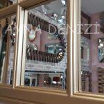 Milano Model Altın Renk Dekoratif Pencere Ayna-20