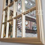 Milano Model Altın Renk Dekoratif Pencere Ayna-22