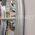 Milano Model Gümüş Renk Dekoratif Pencere Ayna-20