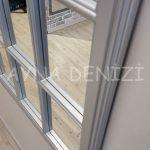 Milano Model Gümüş Renk Dekoratif Pencere Ayna-21