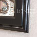 Milano Model Siyah Renk Dekoratif Pencere Ayna-13