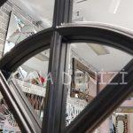 Milano Model Siyah Renk Dekoratif Pencere Ayna-17