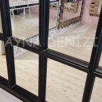 Milano Model Siyah Renk Dekoratif Pencere Ayna-24