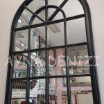 Milano Model Siyah Renk Dekoratif Pencere Ayna-8