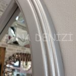 Ravenna Model Gümüş Renk Dekoratif Pencere Ayna-14