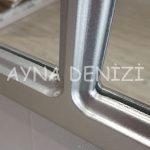 Bergamo Model Gümüş Renk Dekoratif Pencere Ayna-22