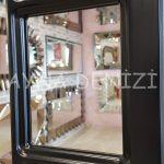 Bergamo Model Siyah Renk Dekoratif Pencere Ayna-17