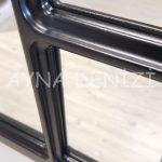 Bergamo Model Siyah Renk Dekoratif Pencere Ayna-23