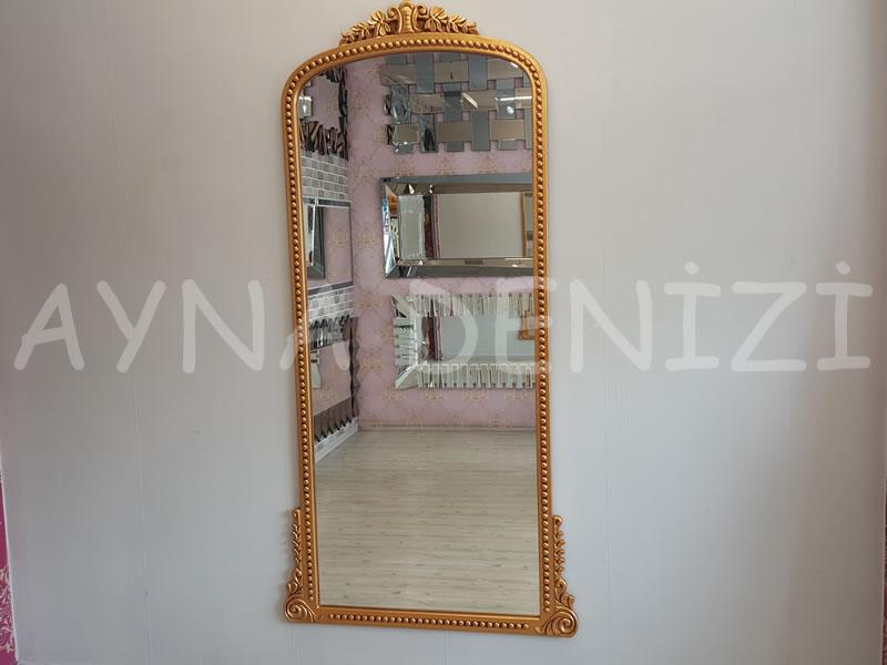 Sinyora Model Altın Renk Boy Aynası-1