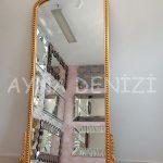 Sinyora Model Altın Renk Boy Aynası-11