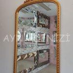 Sinyora Model Altın Renk Boy Aynası-14