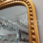 Sinyora Model Altın Renk Boy Aynası-16