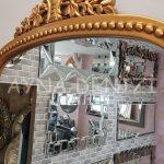 Sinyora Model Altın Renk Boy Aynası-17