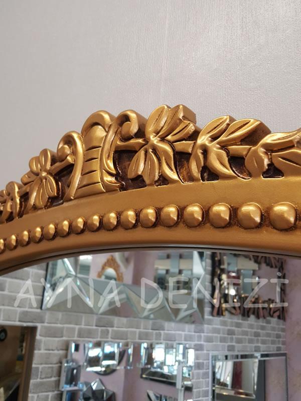 Sinyora Model Altın Renk Boy Aynası-18