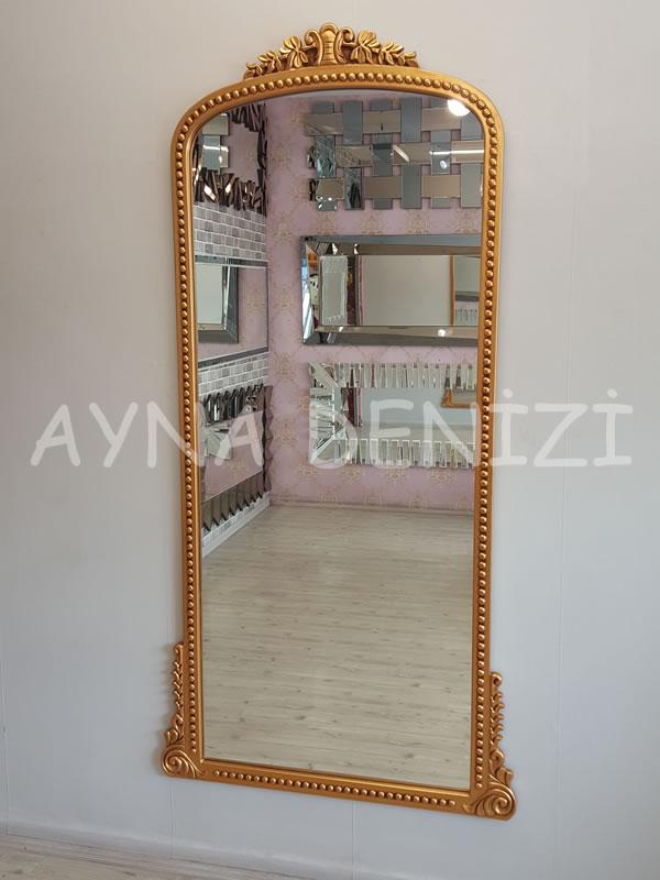 Sinyora Model Altın Renk Boy Aynası-2