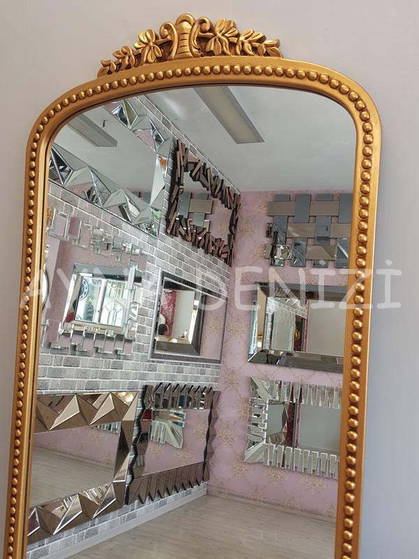Sinyora Model Altın Renk Boy Aynası-22
