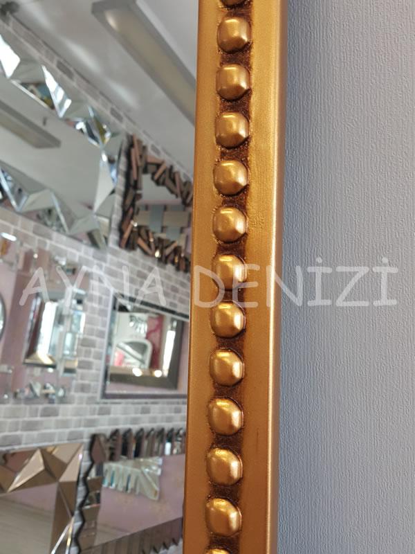 Sinyora Model Altın Renk Boy Aynası-24