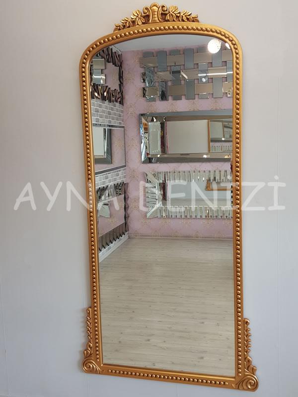 Sinyora Model Altın Renk Boy Aynası-3