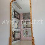 Sinyora Model Altın Renk Boy Aynası-4