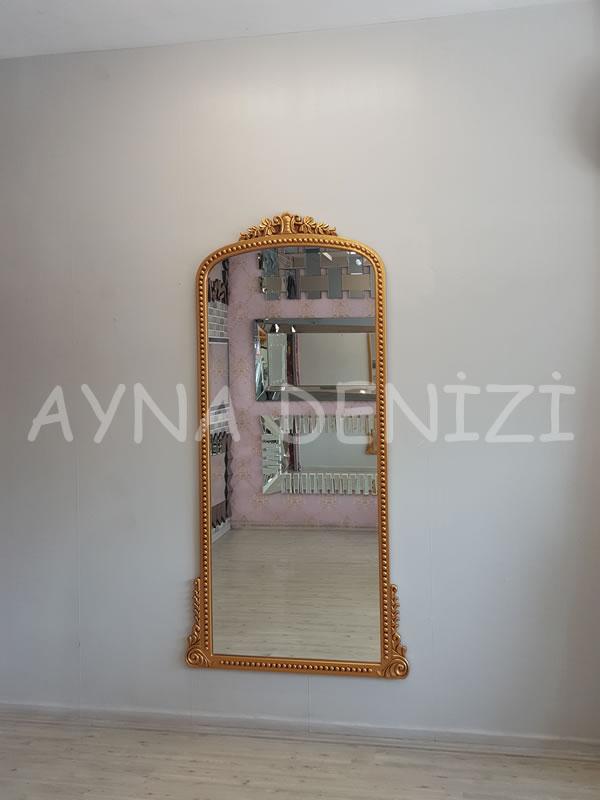 Sinyora Model Altın Renk Boy Aynası-5