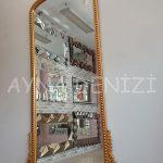 Sinyora Model Altın Renk Boy Aynası-6