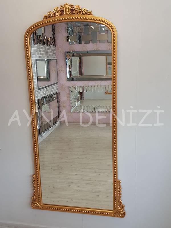 Sinyora Model Altın Renk Boy Aynası-7