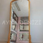 Sinyora Model Altın Renk Boy Aynası-8