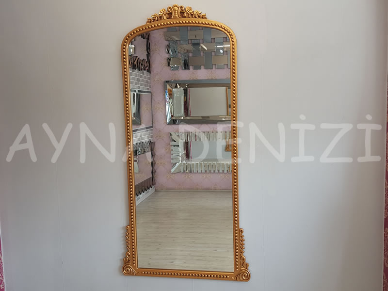 Sinyora Model Altın Renk Boy Aynası