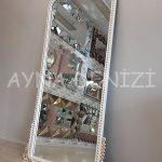 Sinyora Model Beyaz Altın Renk Boy Aynası-11