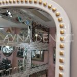 Sinyora Model Beyaz Altın Renk Boy Aynası-16