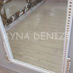 Sinyora Model Beyaz Altın Renk Boy Aynası-19